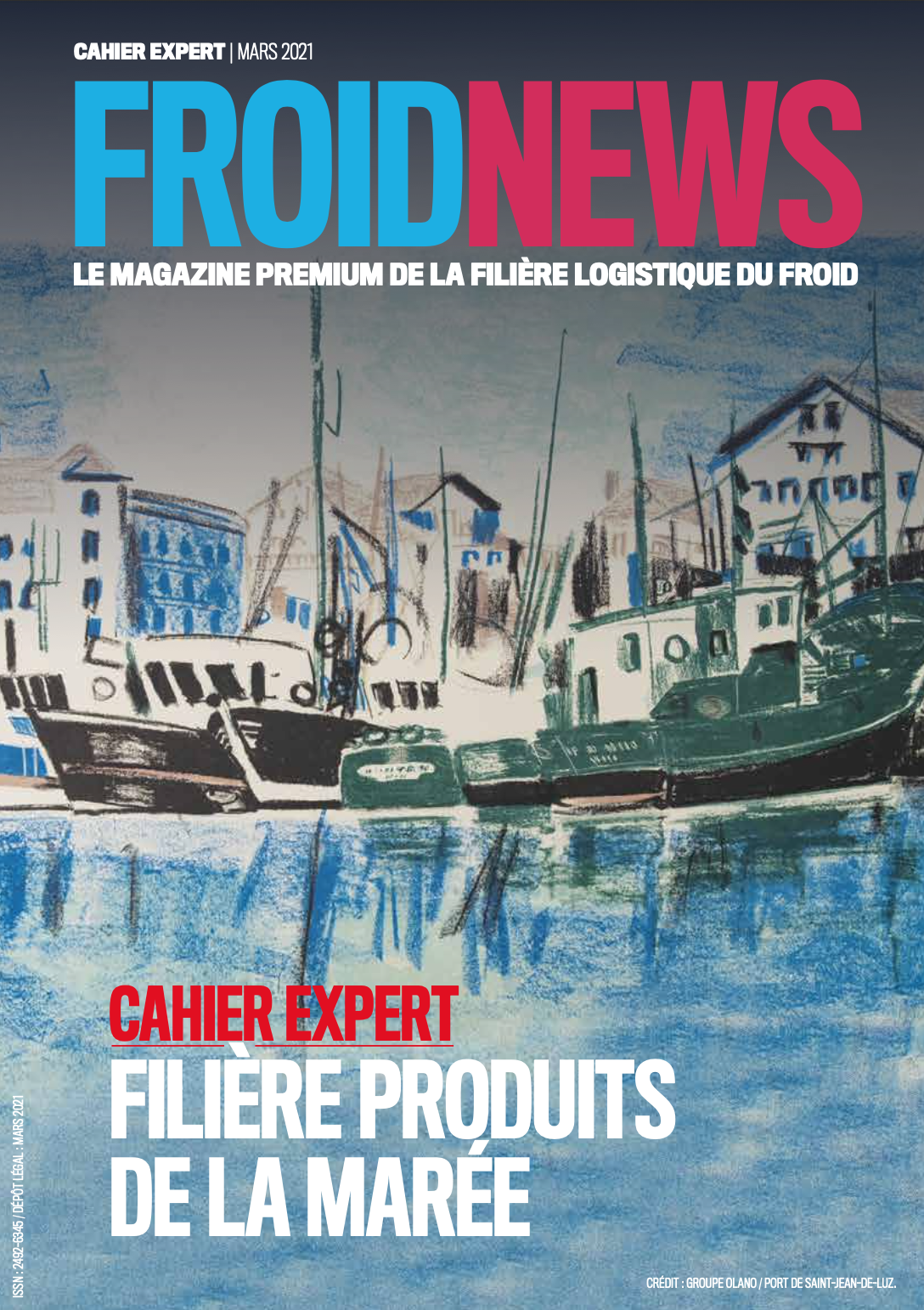 Une Cahier expert seafood
