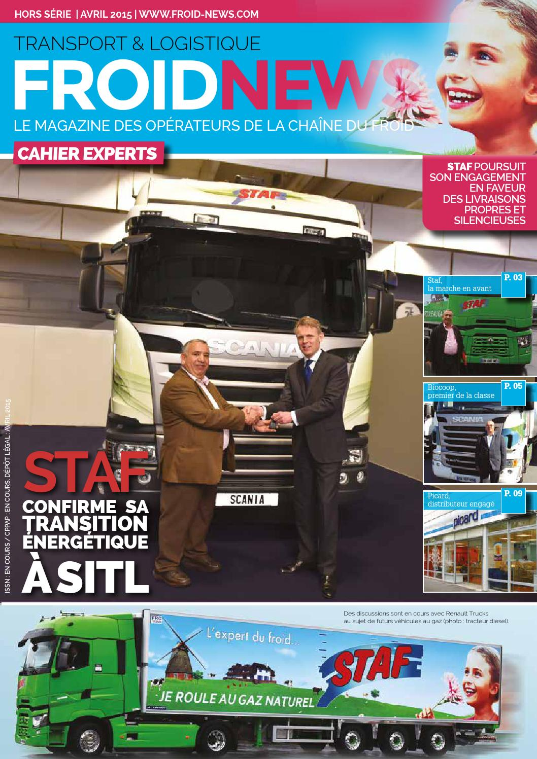 FROID NEWS CAHIER EXPERT STAF UNE